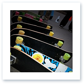 Слаломный скейт