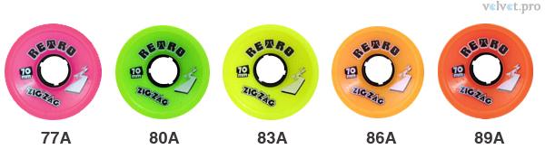 ABEC-11 Retro Zig-Zag 70мм