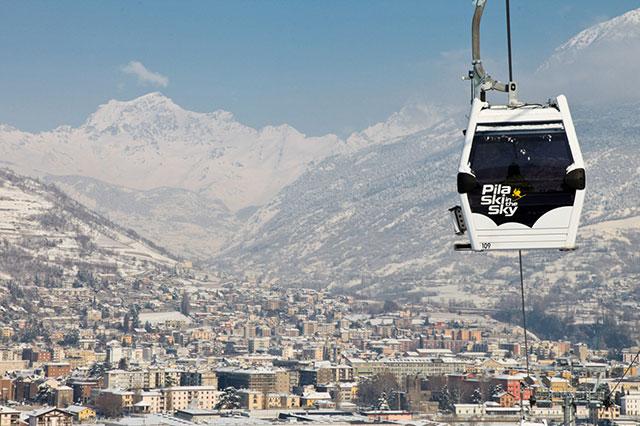Pila, Aosta, Italy